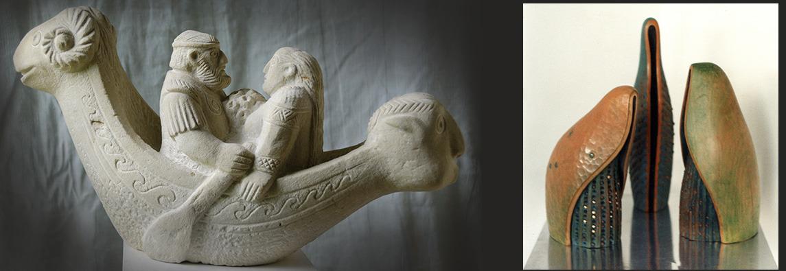 Sculptura Damian Ioan Popa